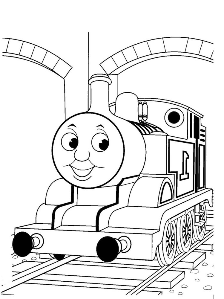 Thomas And Friends Coloring Pages. Download And Print Thomas And Friends Coloring  Pages