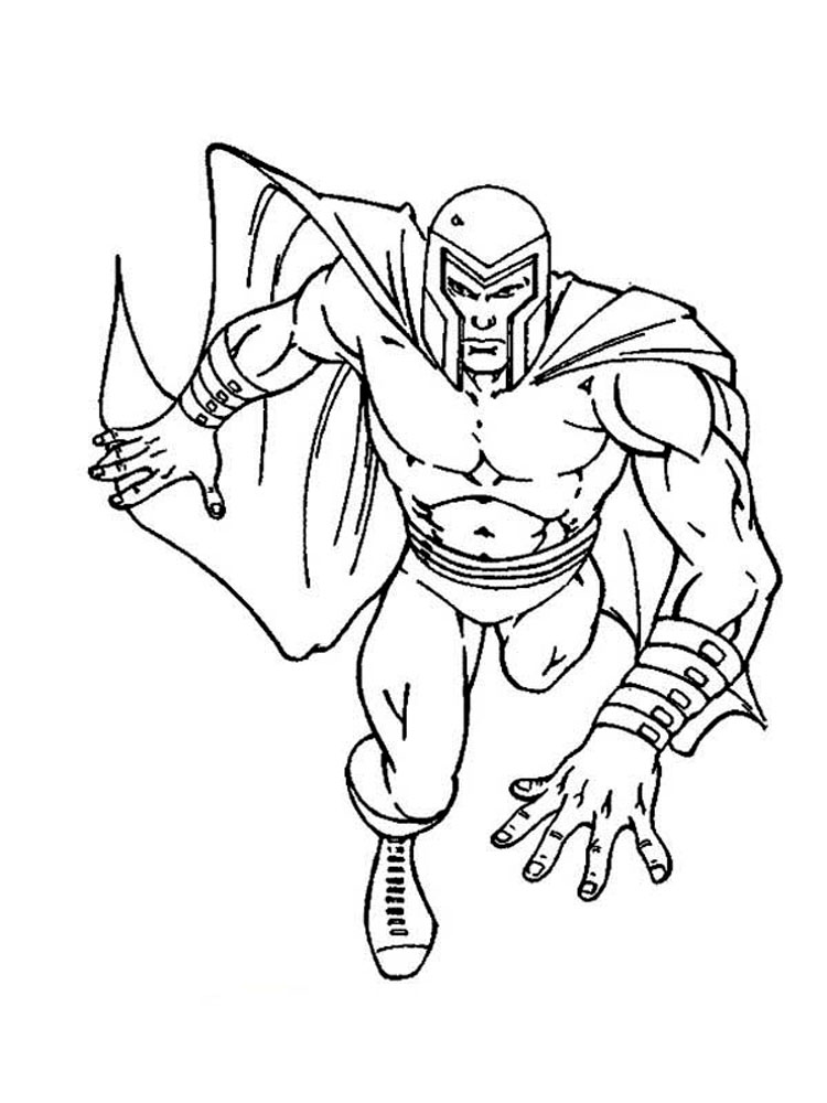 X-men coloring pages. Download and print X-men coloring pages