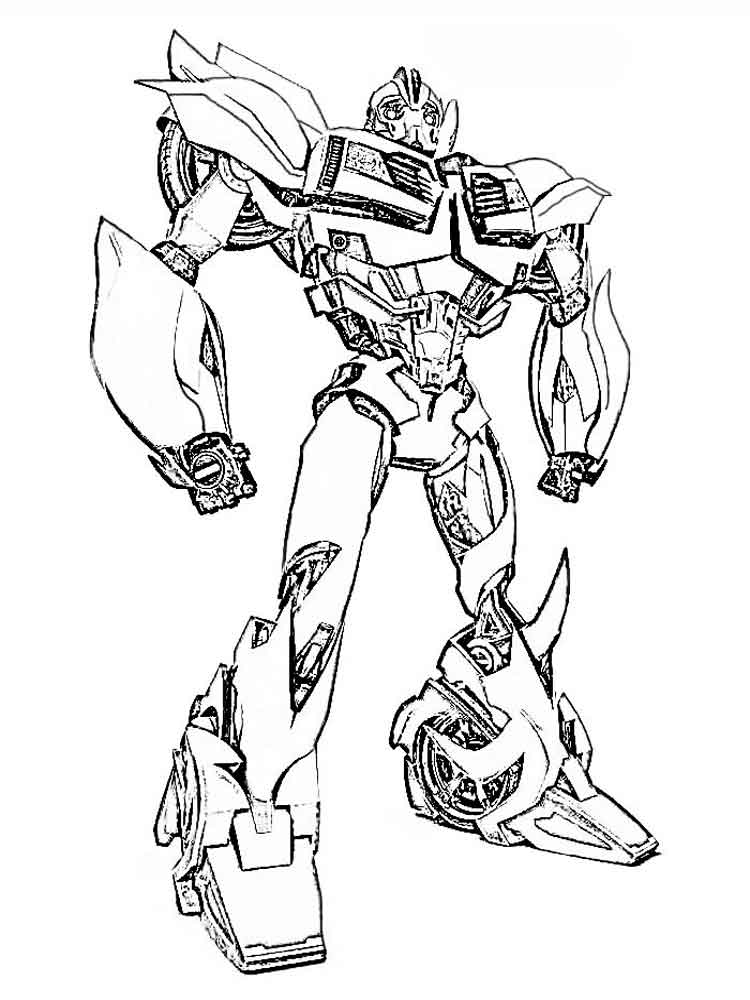 Autobot coloring pages Free Printable