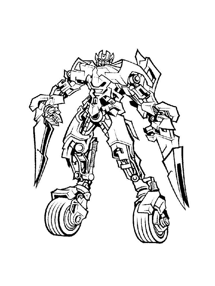 Autobot Coloring Pages Free Printable Autobot Coloring Pages
