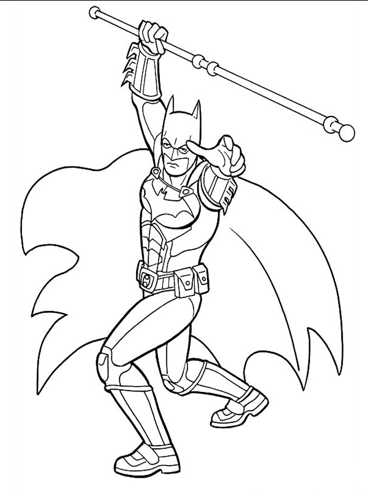 robin coloring pages batman free - photo#26