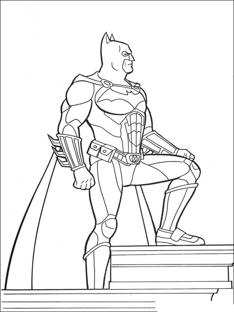 Batman and Robin coloring pages. Free Printable Batman and ...