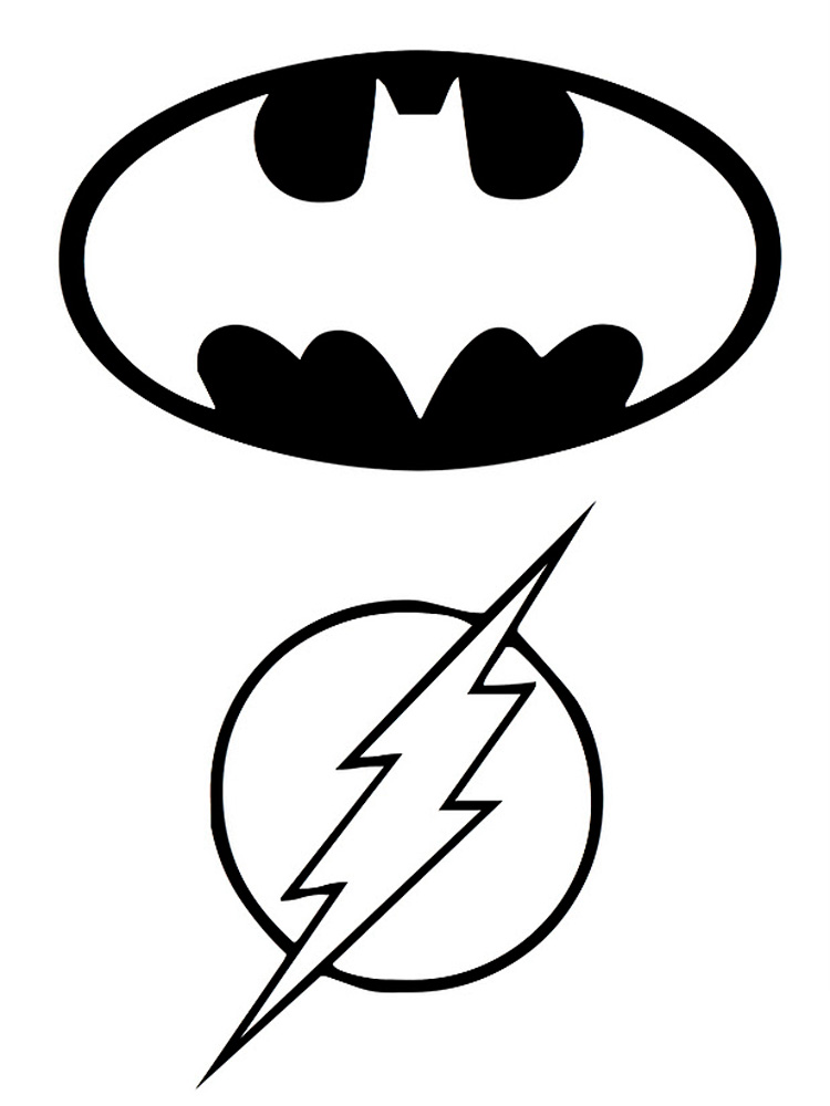 Batman logo coloring pages. Free Printable Batman logo ...