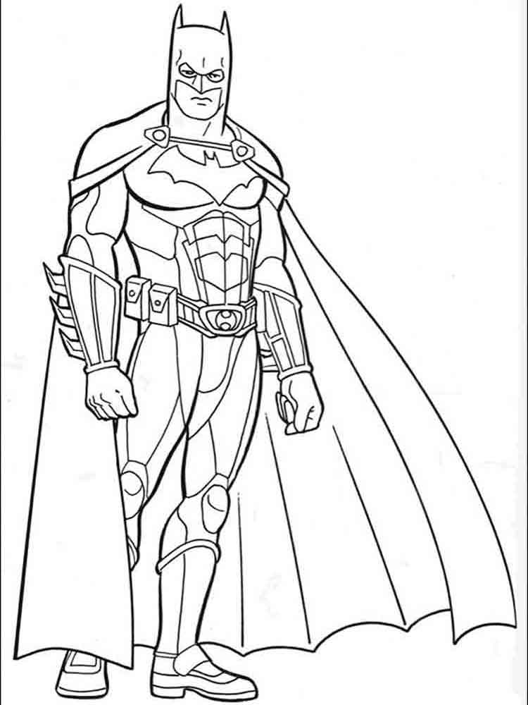 Batman Coloring Pages Download And Print Batman Coloring Pages