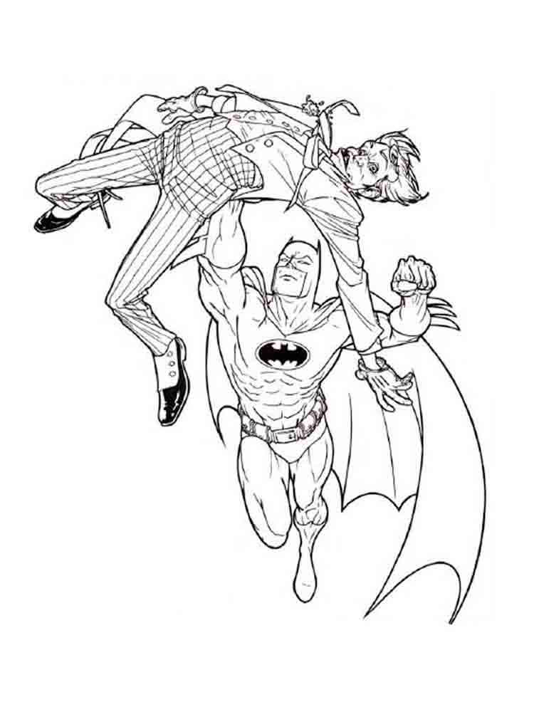 Batman Coloring Pages. Download And Print Batman Coloring