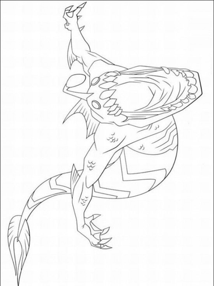 Ben 10 Ultimate Alien Coloring Pages Free Printable Ben 10 Ben Ten Ultimate Coloring Pages