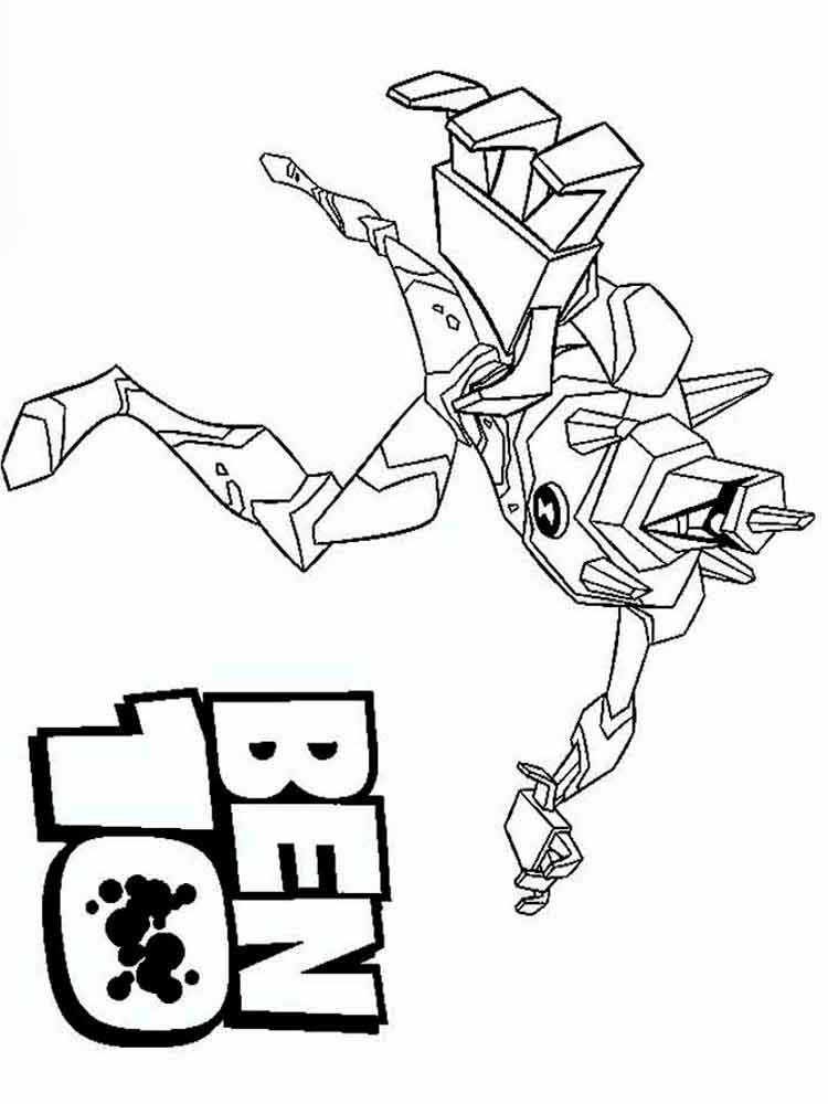 Ben 10 Coloring Pages Download And Print Ben 10 Coloring