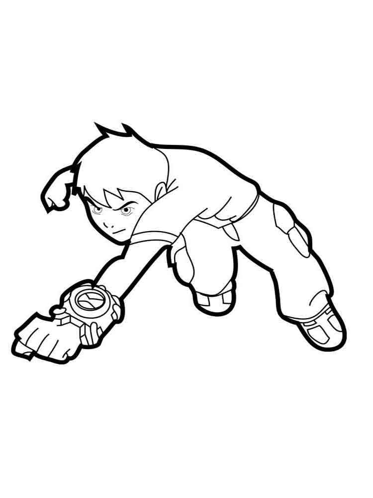 Ben 10 Coloring Pages Download And Print Ben 10 Coloring Pages