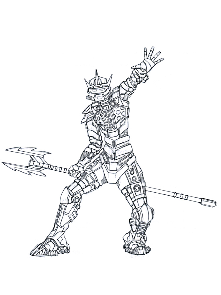 Bionicle coloring pages Free Printable