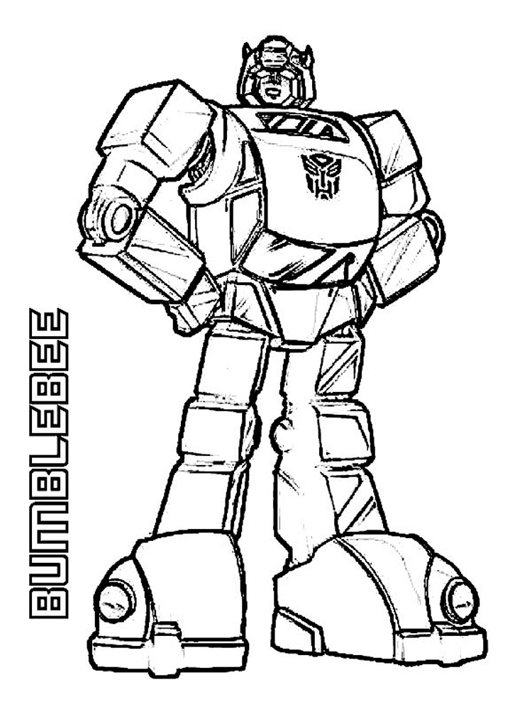 Bumblebee coloring pages free printable bumblebee for Bees coloring pages