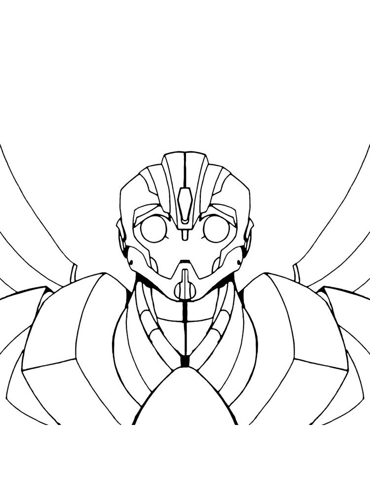 Bumblebee Coloring Pages Free Printable Bumblebee