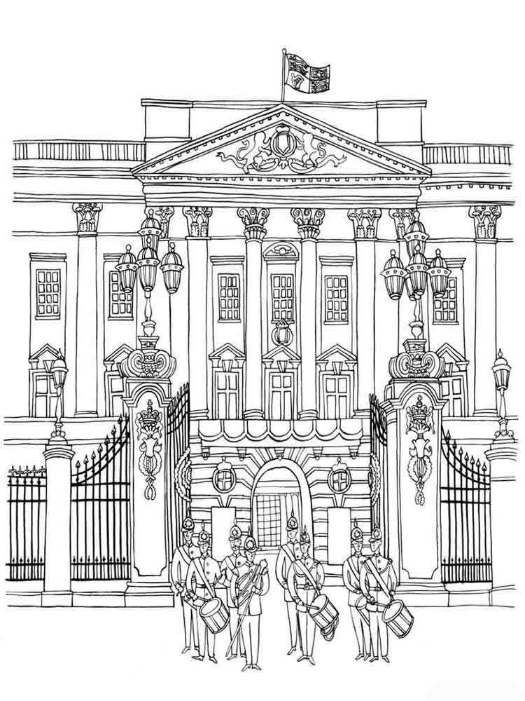Castle Coloring Pages Download And Print Castle Coloring