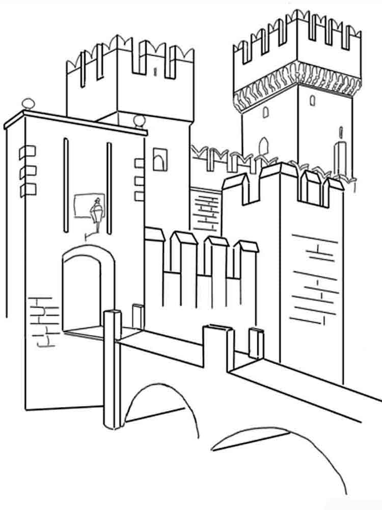 castlerock coloring pages - photo#49