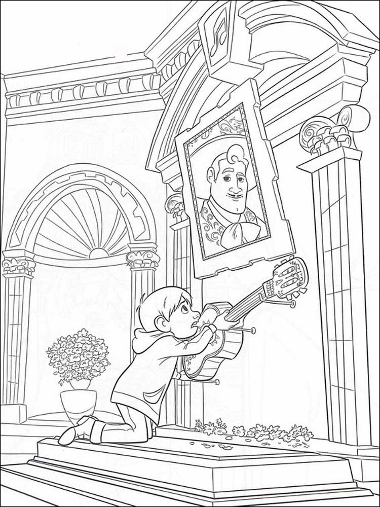 Free Printable Coco Coloring Pages For Kids