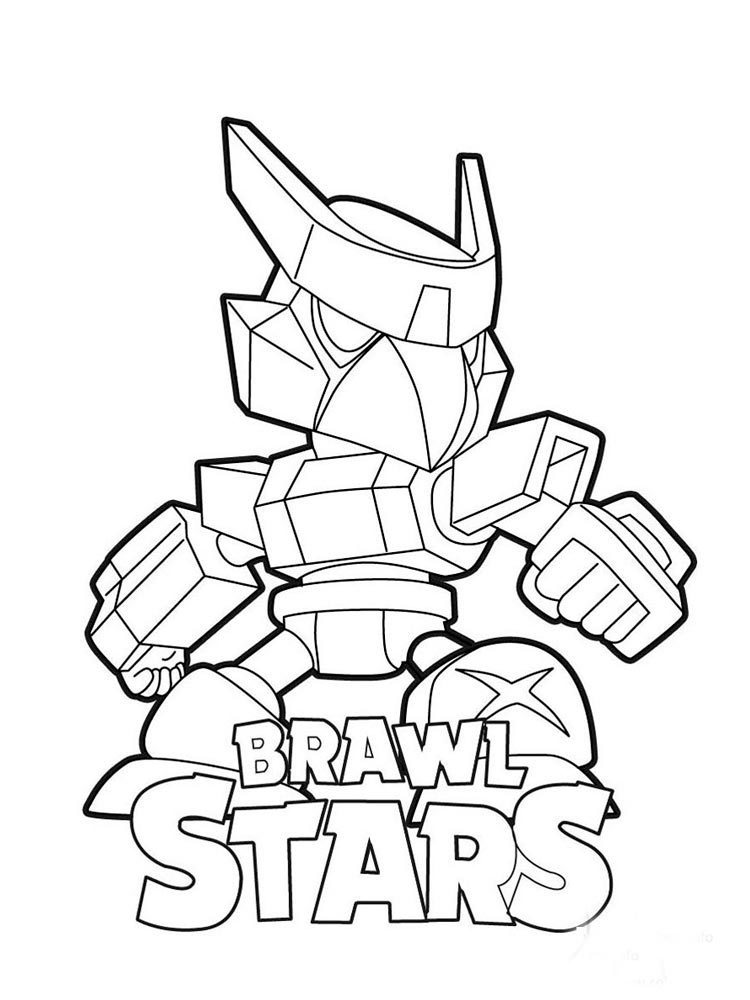 Free Brawl Stars Crow Coloring Pages Download And Print Brawl Stars Crow Coloring Pages