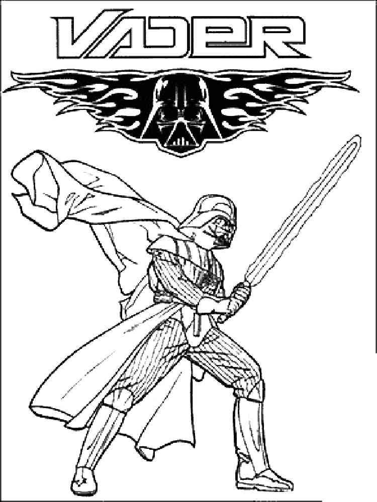 Darth Vader coloring pages. Free Printable Darth Vader coloring pages.