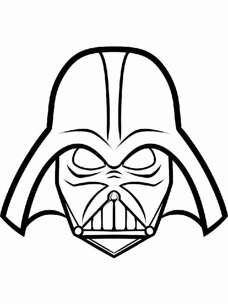 Darth Vader Coloring Pages | Star wars drawings, Star wars colors ... | 1000x750