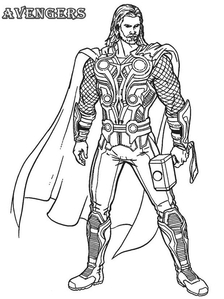 Superhero Thanos Coloring Pages: DC Superhero Coloring Pages. Free Printable DC Superhero