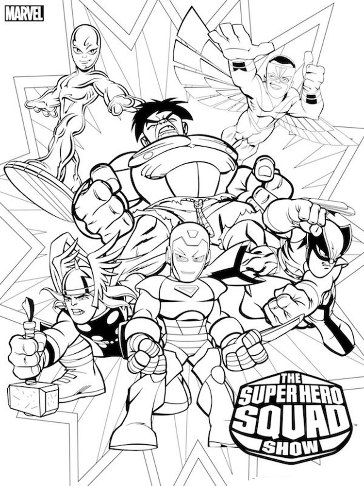 Dc Superhero Coloring Pages Free Printable Dc Superhero Coloring Pages
