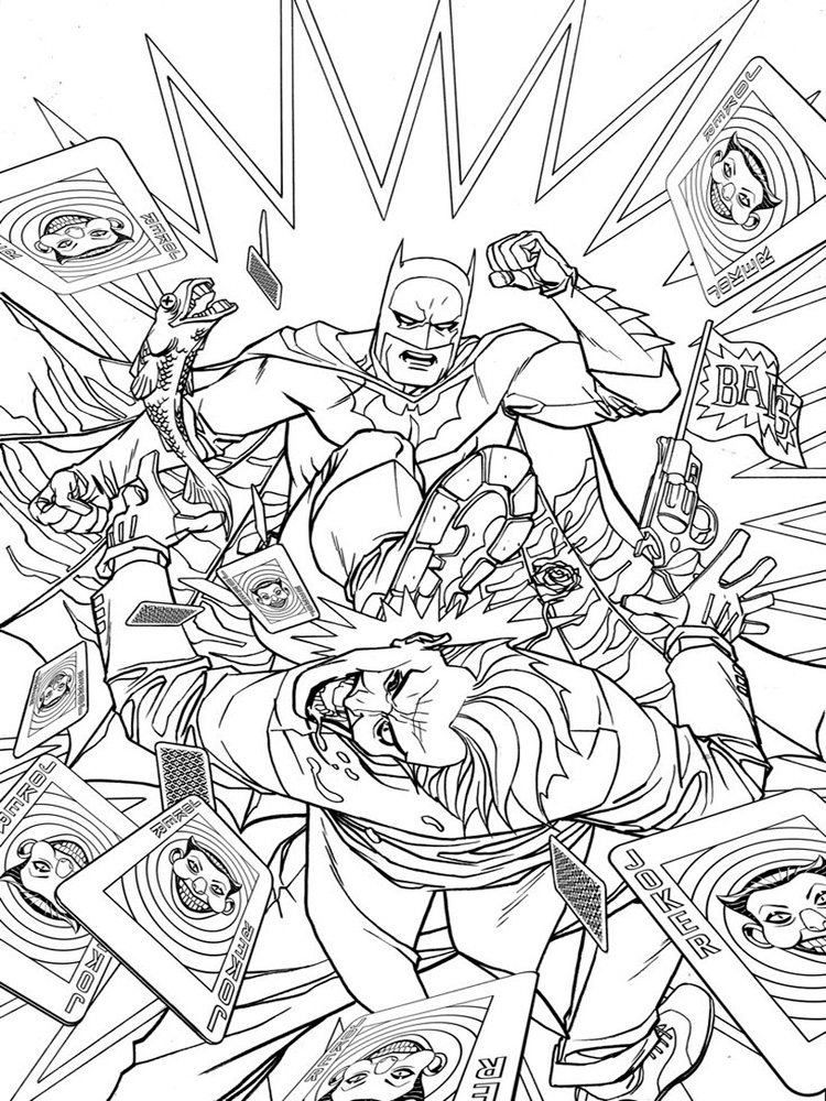 boy superhero coloring pages - photo#20