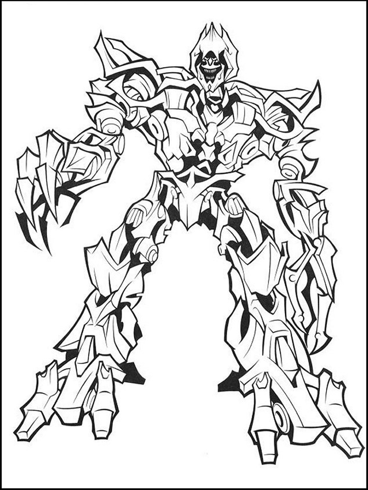 Decepticon coloring pages Free