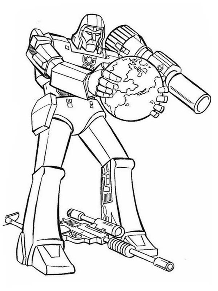 free coloring pages for boys transformers costume | Decepticon coloring pages. Free Printable Decepticon ...