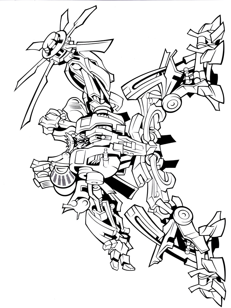 transformers coloring pages decepticons - photo#21