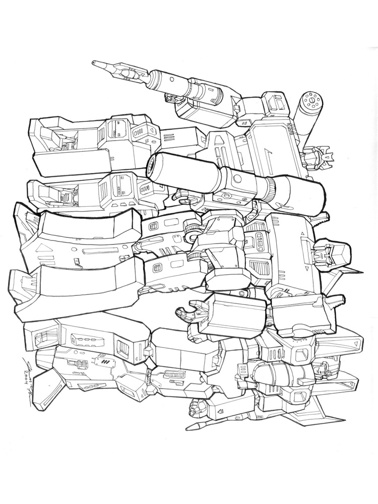 transformers coloring pages decepticons - photo#23