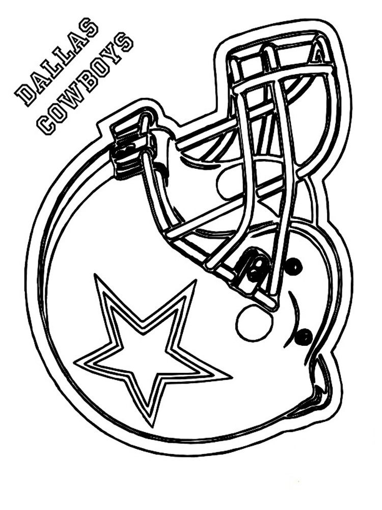 Football Helmet coloring pages. Free Printable Football ...