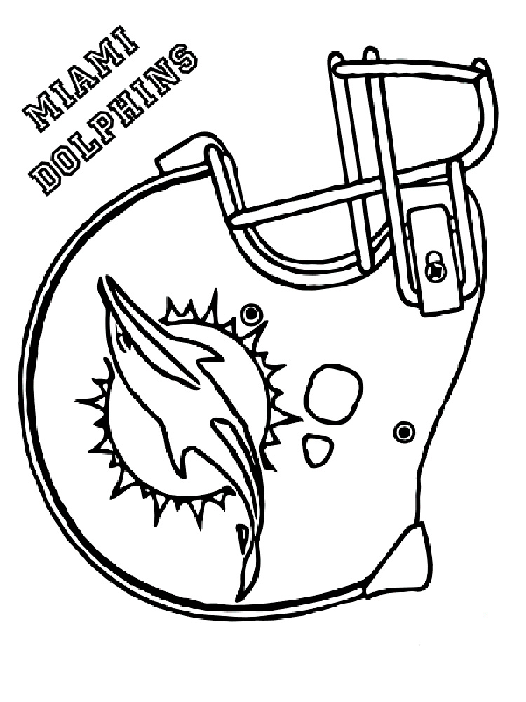 Viking Football Helmet Pages Printable Coloring Pages