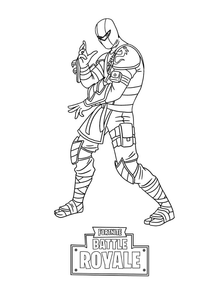 Fortnite Character Coloring Free Printable Fortnite Coloring Pages For Kids