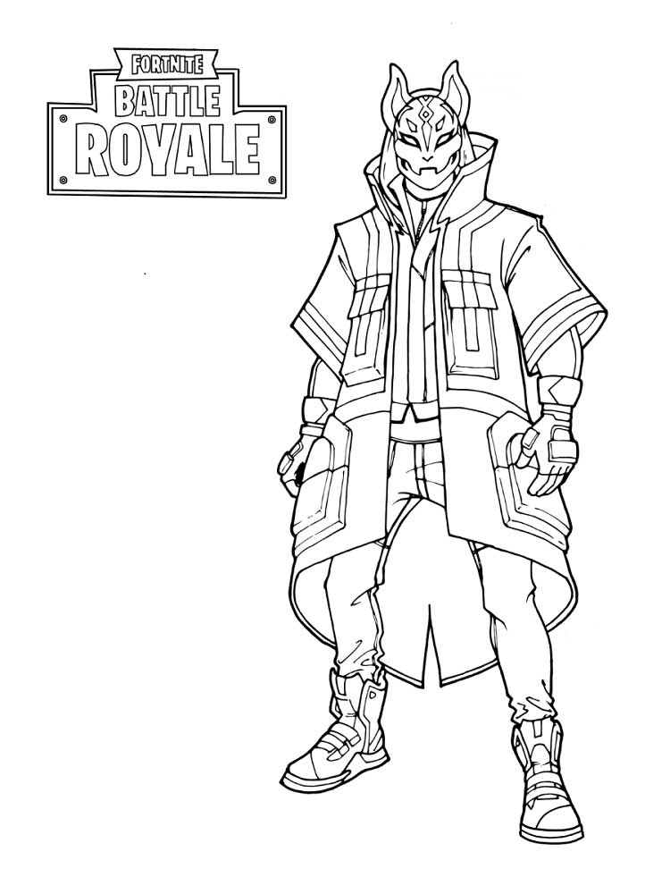 Nerdy image throughout free printable fortnite coloring pages