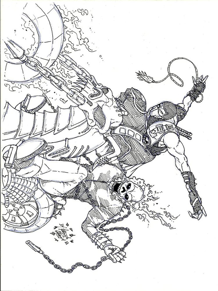 Ghost Rider coloring pages Free Printable Ghost Rider coloring pages