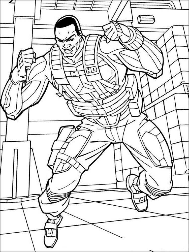 Gi Joe coloring pages Free Printable