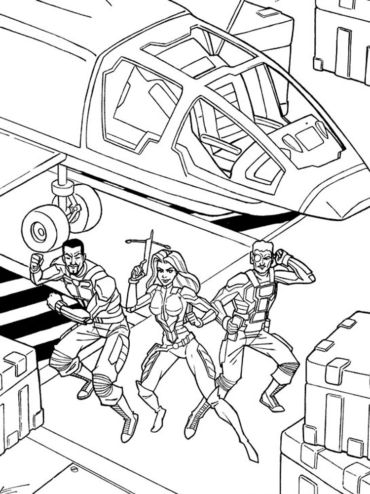 g i jow coloring pages - photo#34