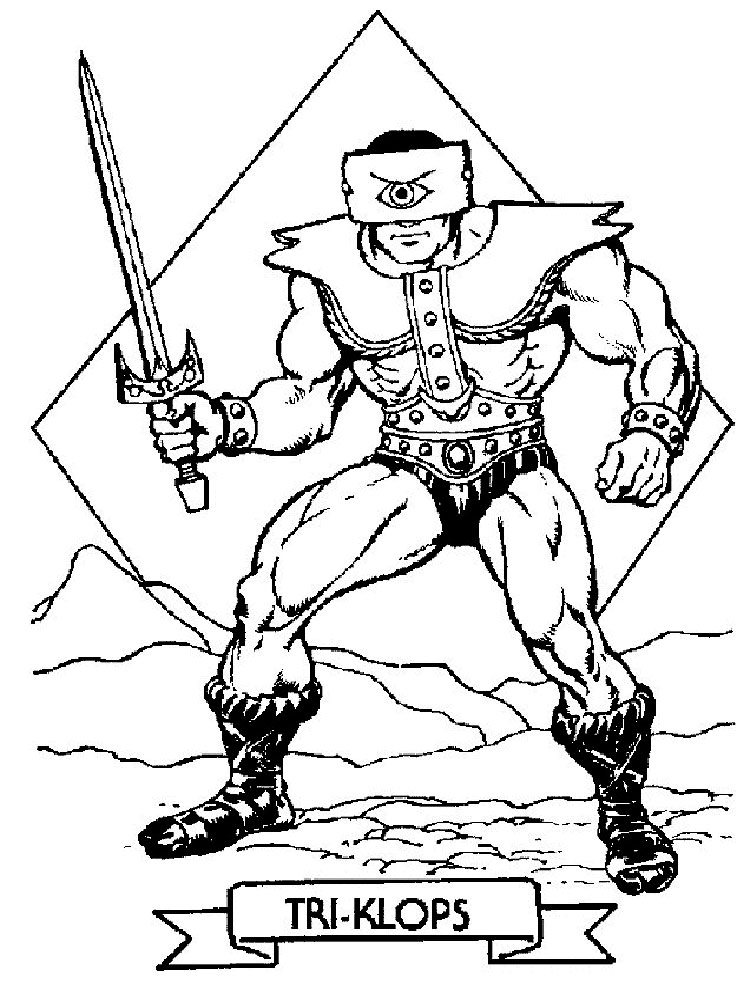 He Man coloring pages Free Printable He Man coloring pages