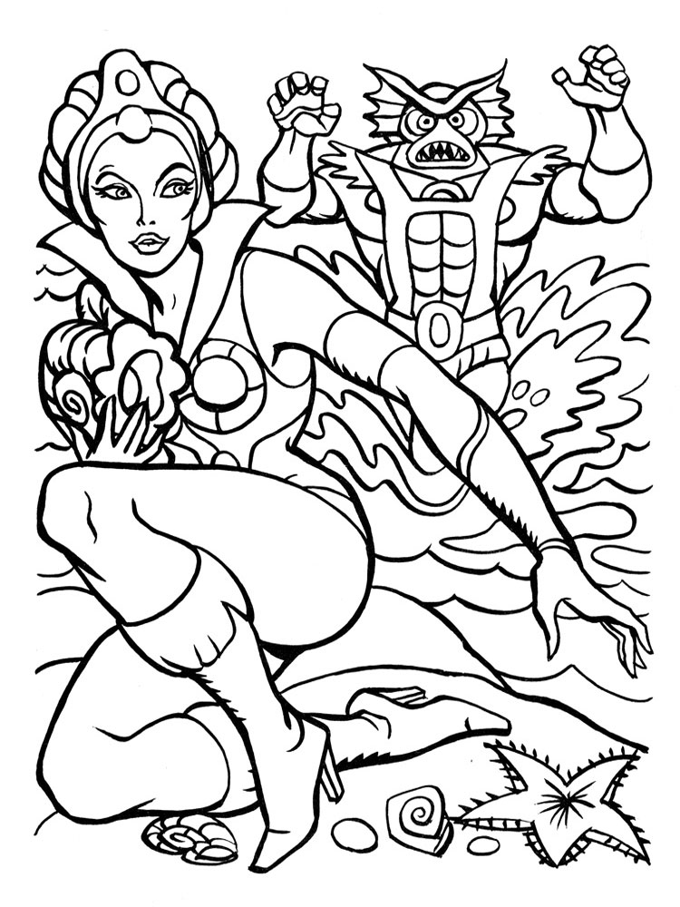 He Man coloring pages. Free Printable He Man coloring pages.