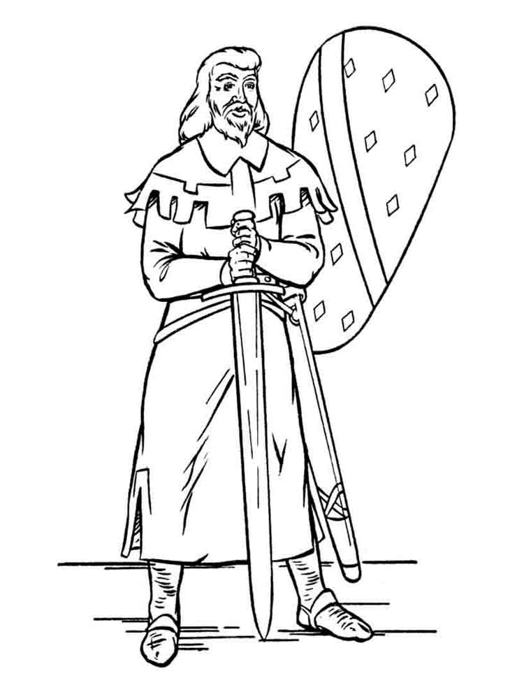 fiver knights coloring pages | Knight And Armor Coloring Pages Sketch Coloring Page