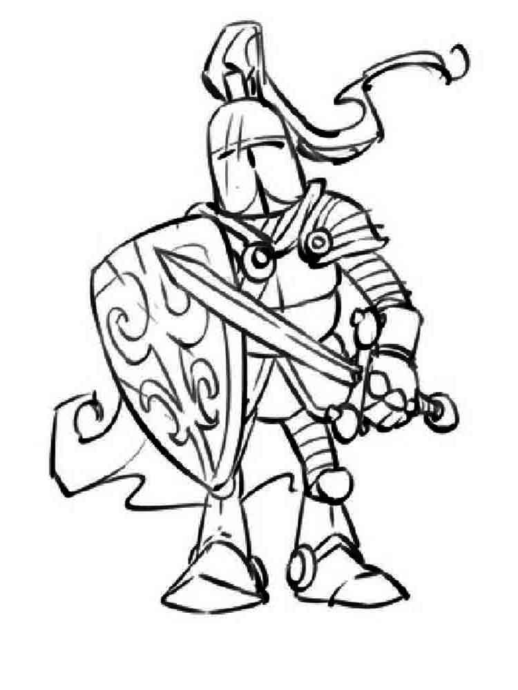 Knights coloring pages Download and print knights