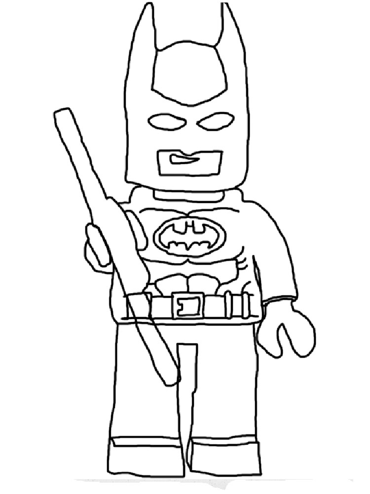 lego batman coloring pages for boys 10 - Batman Coloring Books