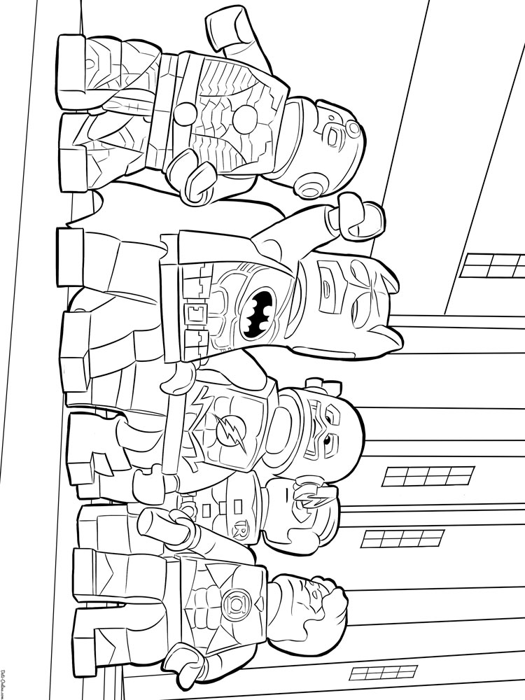 Lego Batman coloring pages. Free Printable Lego Batman ...