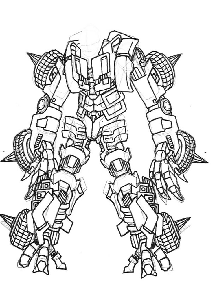 Lego Bionicle Coloring Pages For Boys 16
