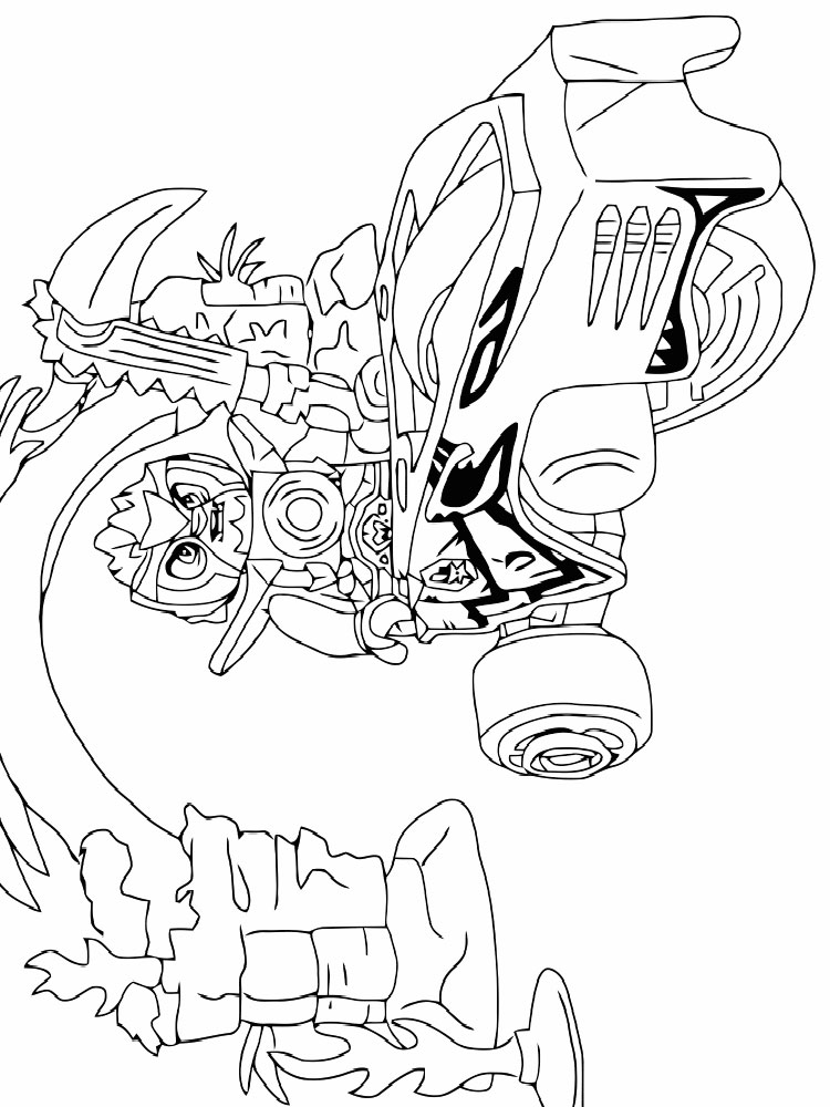 lego bionicle coloring pages free printable