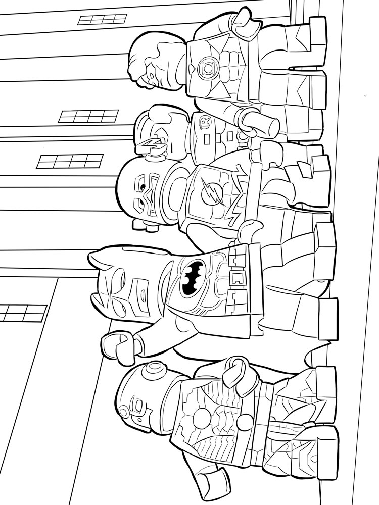 Lego Flash Coloring Pages Free Printable Lego Flash Coloring Pages