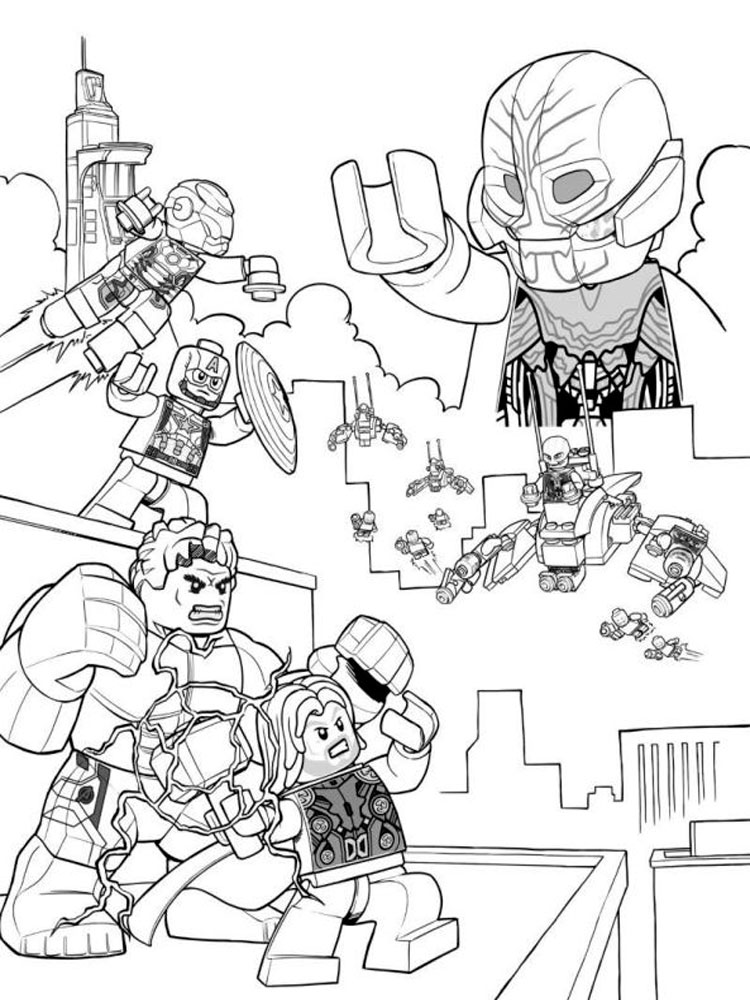 Marvel Thor Coloring Pages For Boys Marvel Best Free