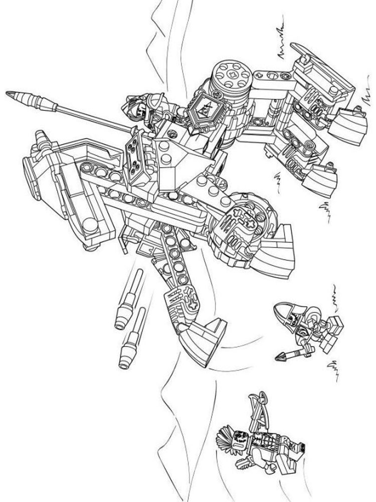 Lego Nexo Knight Coloring Pages Free Printable Lego Nexo Knight Coloring Pages