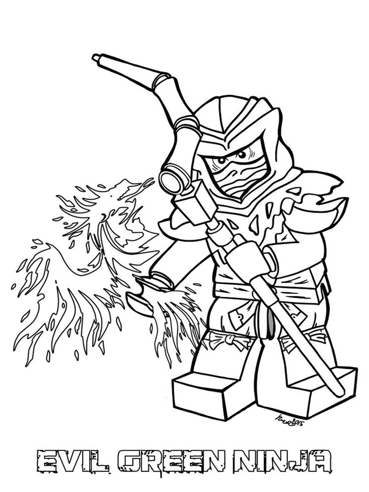 Lego Ninjago Coloring Pages. Free Printable Lego Ninjago Coloring Pages.