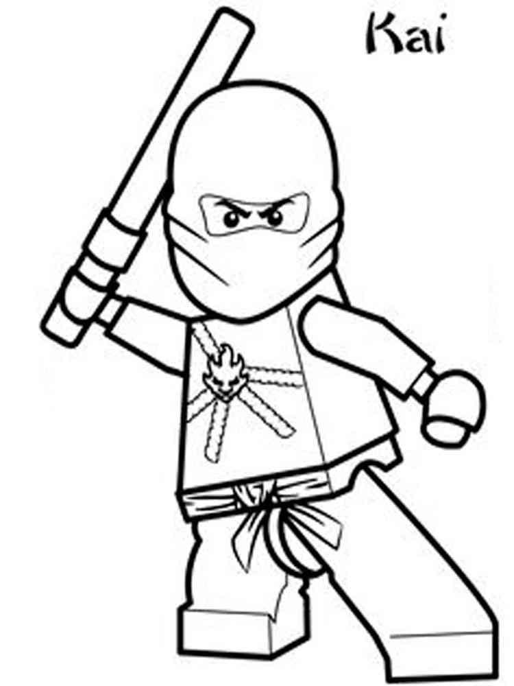 Lego Ninjago Coloring Pages Free Printable Lego Ninjago Coloring Pages
