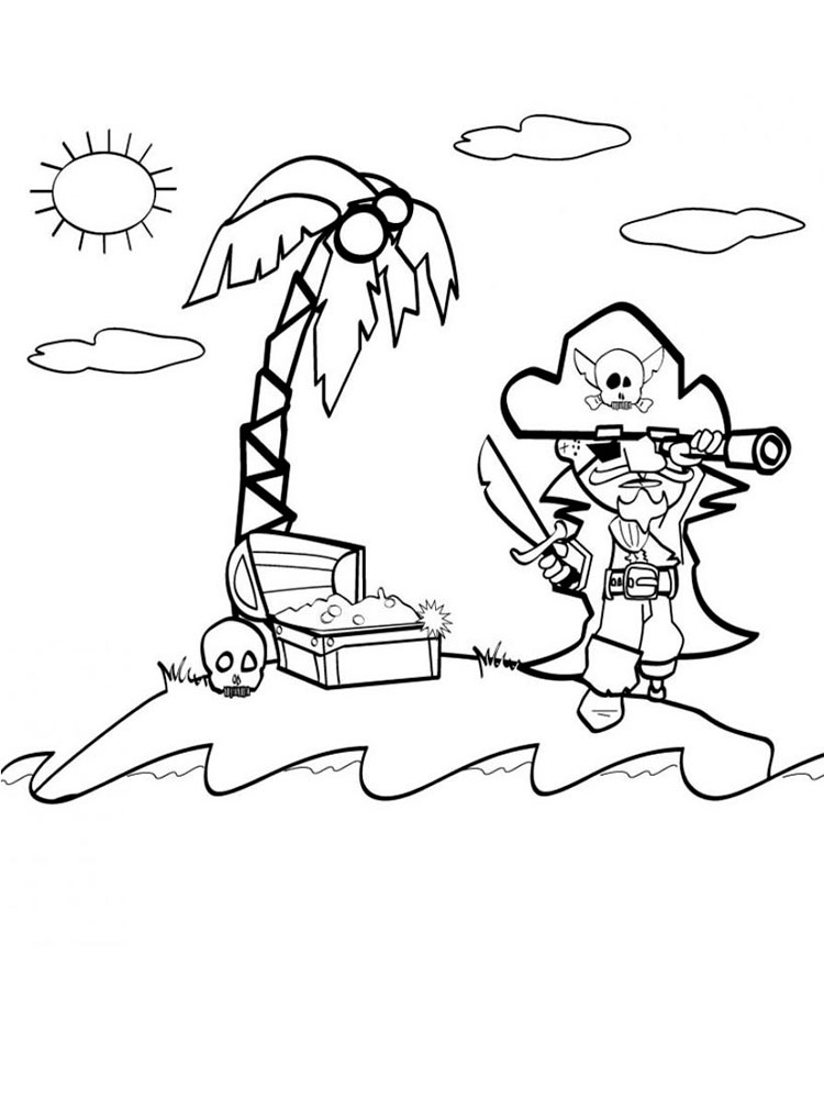 Lego Pirates coloring pages Free