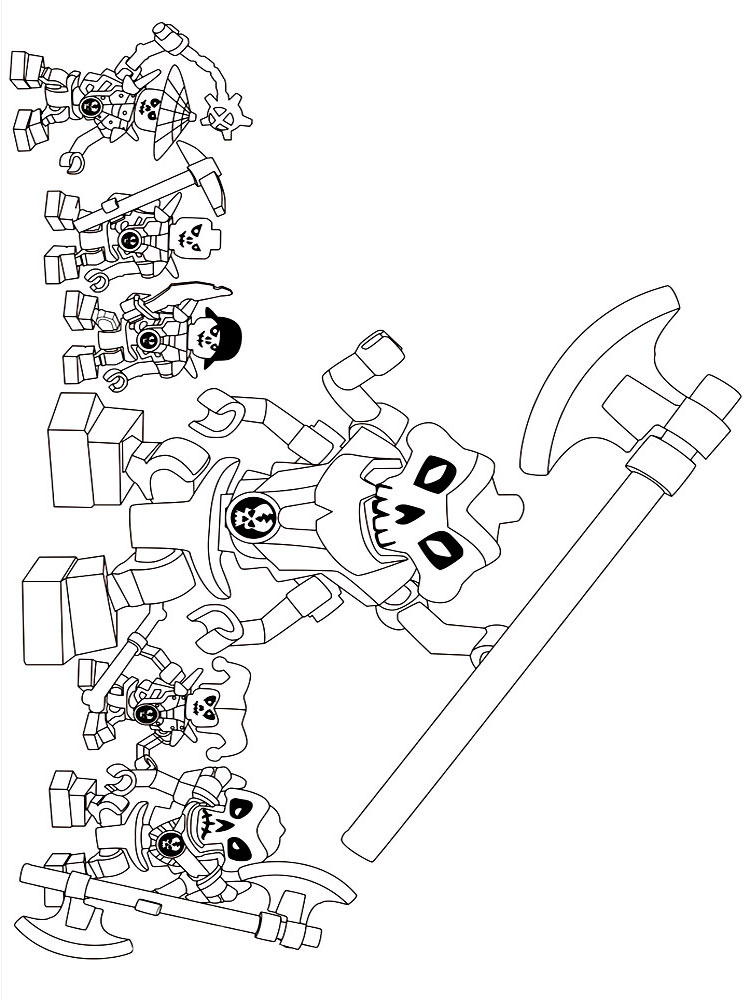 Lego Pirates Coloring Pages Free Printable Lego Pirates